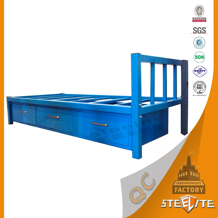 Home bed specific use metal material single beds with storage buy metal bed single bed with Home furniture single bed