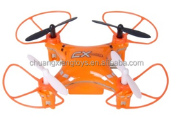 Top Selling CX-MODEL CX023 2.4g 5ch mini RC Quadcopter intruder ufo drone accessories