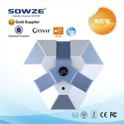 2015 shenzhen SOWZE Megapixel 360 degree ceiling camera onvif panoramic ip fisheye camera