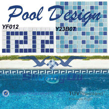 Factory Supply Porcelain Material Swimming Pool Border Tile for Swimming Pool Edge Tile for Swimming Pool Decking