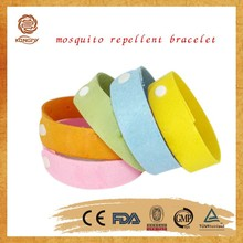 Direct factory citronella oil made repellent mosquito bracelet for OEM/ODM