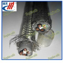 SY screened PVC control cable with steel wire braid