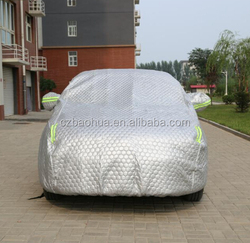 winter 3 layers colourful hail protection car covers
