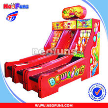 2014 funny Ghost Bowling amusement arcade game machine