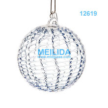 Venta al por mayor alta clásica bola de cristal navidad