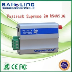Cheap price wireless 3G Gsm gprs gps sms supreme 20 modem rs485/rs232 TCP/IP stack AT command wavecome module
