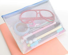 fashion clear fashion clear pvc bag in hot saling in hot saling/ phone accessories promotional bag/ visible pvc window paper bag