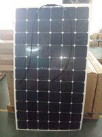 SunPower 24V 200W flexible PV solar panel kits for RV boat, golf car
