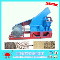 Hot sell easy operate electrical 4000kg per hour wood log chipping machine at factory price