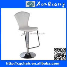 PVC Leather Bars Stools With High Back And Footrest XQ 301B
