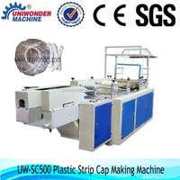 hotel use plastic disposable Strip cap cover making machines