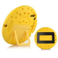 circle design silicone cute kids hand holder case for ipad mini 1 2 3