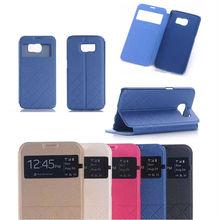 Book flip case for Samsung galaxy S6