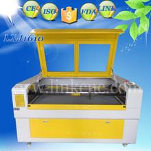 Mundial distribuidor quería 1610 máquina láser para sello de goma / 80 w reci máquina cortadora láser