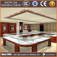 Commercial Furniture Glass Display Table Jewelry Store Equipment