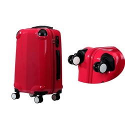 Factory price ABS travel luggage girls travel luggage