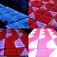 led dance floor for stage and club video show / dance with the music