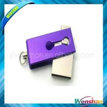 Fashion Rectangle otg Swivel USB Flash Drive/usb/label usb flash drive