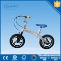 Venda quente novo design full liga de alumínio crianças equilíbrio moto