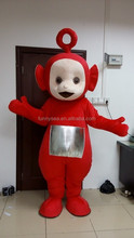 Red teletubbies mascot,teletubbies mascot costume