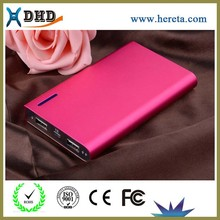 Hot large capacity 12000mah dual usb power bank for macbook pro /ipad mini