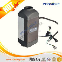 Mini type China low cost diesel/gasoline 12v car air conditioner for preheating