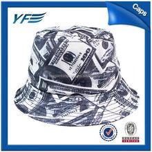 White Cotton Bucket Hat/Cap Guns Wholesale/Cotton Safari Hat