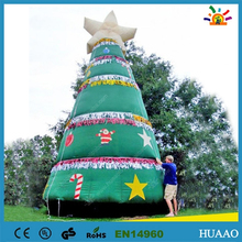 2015 snowing christmas tree with umbrella base