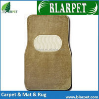 Super quality branded fashionable durable plastic car mat