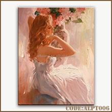 Hot sales women portraits oil paintings