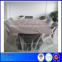 Clear PE Plastic Decorate Tack Cloth For Paint