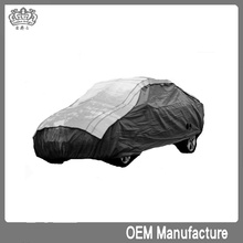 aluminum film + EPE & non-woven silicon magnet mat white color,new arrival plastic anti hail car cover at factory price