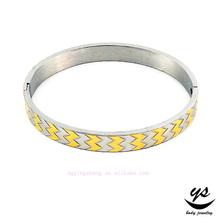 316L stainless steel decorative design bangle
