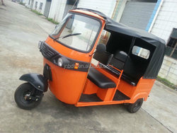 new passenger tricycle wheeler/three wheel motorcycle taxi