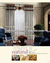 Embroidered Drapery Curtain