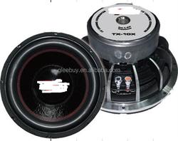 audio speaker 12inch subwoofer GB-TX12X Dual 4 ohms Voice Coil Diameter: 65mm2.5inch 4 Layer ASVSpl88 speakers subwoofer