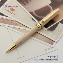 Jiangxi factory wholesale ball point carved wood pen
