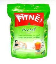 Fitne Herbal Weight Control Slimming Green Diet Tea (30 Sachets Tea Bags)