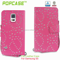 wallet leather case for samsung galaxy s5 i9600