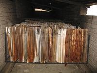 Dried Acacia Core Veneer 1270 x 640 x 2.0 mm - KECO COMPANY LTD