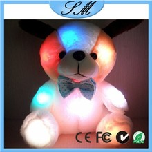 plush dog with led lighting kids dog toys