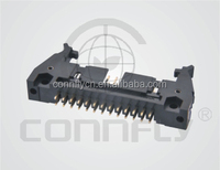 Customized 2.54mm 40pin square pin type shrouded header with UL CE FCC certificated