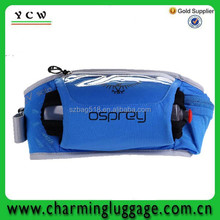supply moistureproof polyester runner waist pack with reflective strips