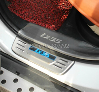 Хромовые накладки для авто Door Sill 2010/hyundai ix35 LED