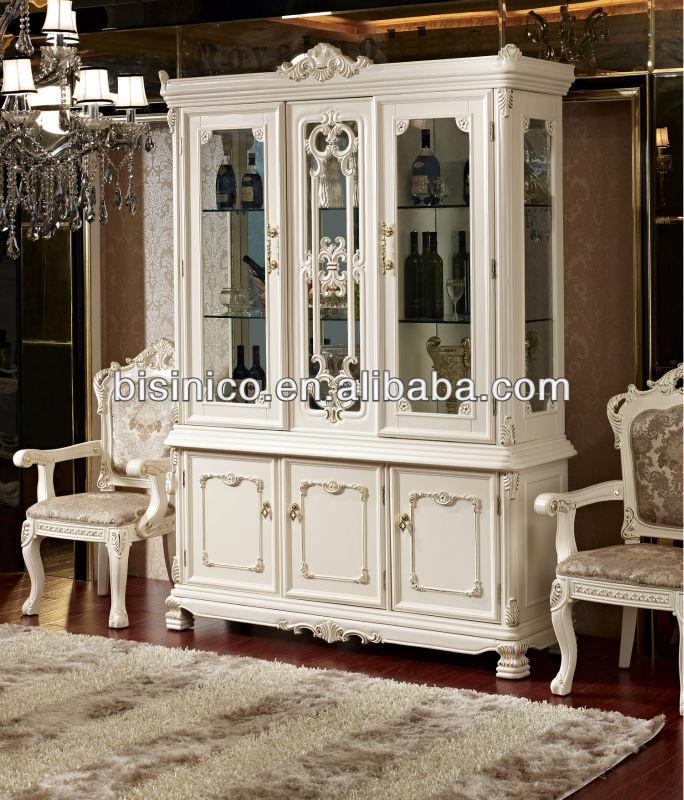 De lujo de estilo franc s muebles de comedor escaparate for Muebles de comedor antiguos
