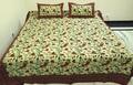 hoja de cama textura indio diseño de la flor hoja de cama