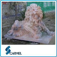 Chinese hight quality granite lion statue