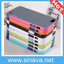 New 2014 Fashion Dual Color TPU Soft Case For iphone 5 5s