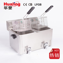 Professional manufacturing commercial electric deep fryers
