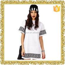 Fashionable print leisure t shirt printing companies